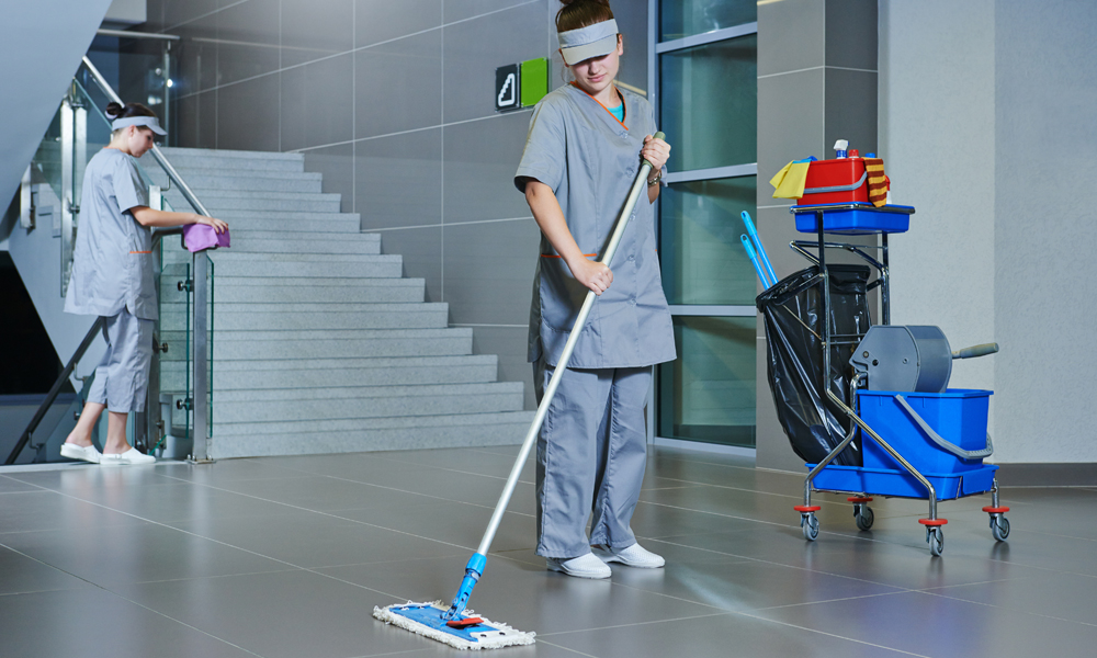 Correct industrial cleaning techniques are essential for maximum safety