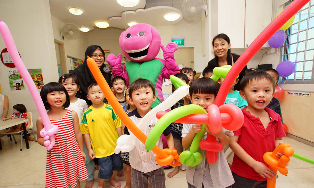 Amazing Treat for the Kids, A Well-Planned Party