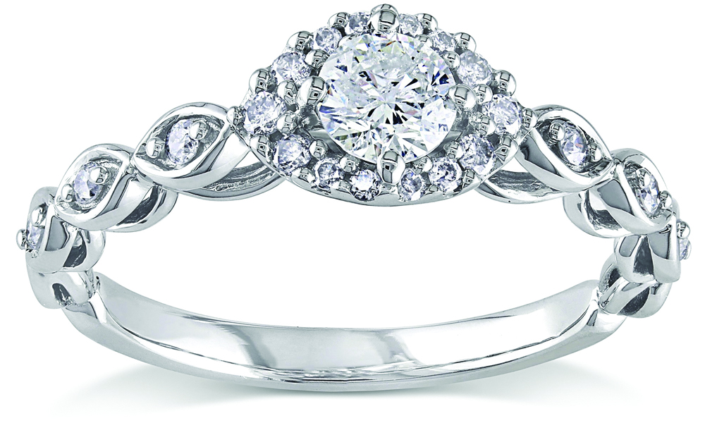 A Beautiful Start of a New Life, with a Perfect Engagement Ring