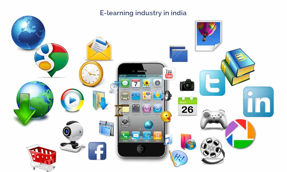 Hastily Enlarging E-Learning Industry in India