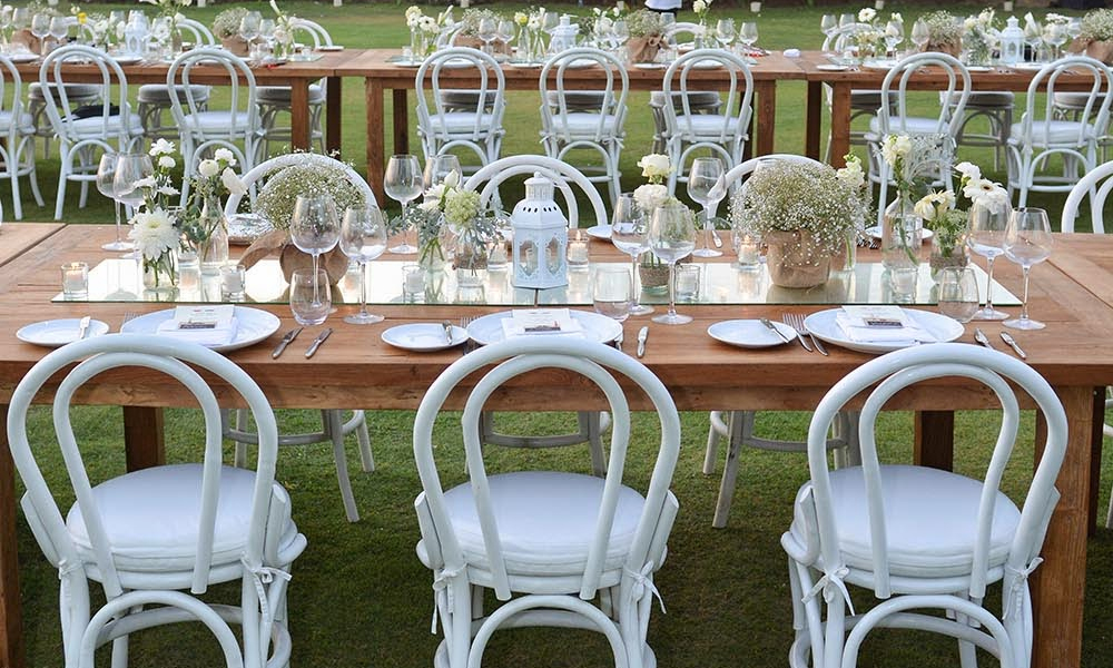 Stay Trendy and Fashionable with the White Bentwood Chairs