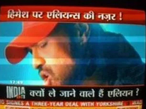 Himesh Reshammiya Funny News India TV