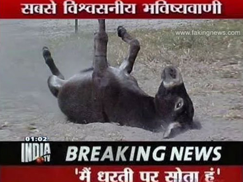 Funny Breaking News India TV