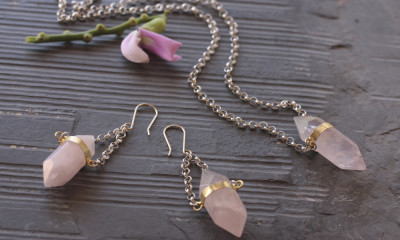Rose-Quartz-Necklace
