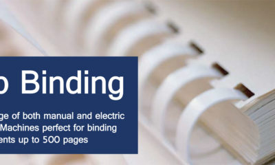 Comb Binding - Main Category