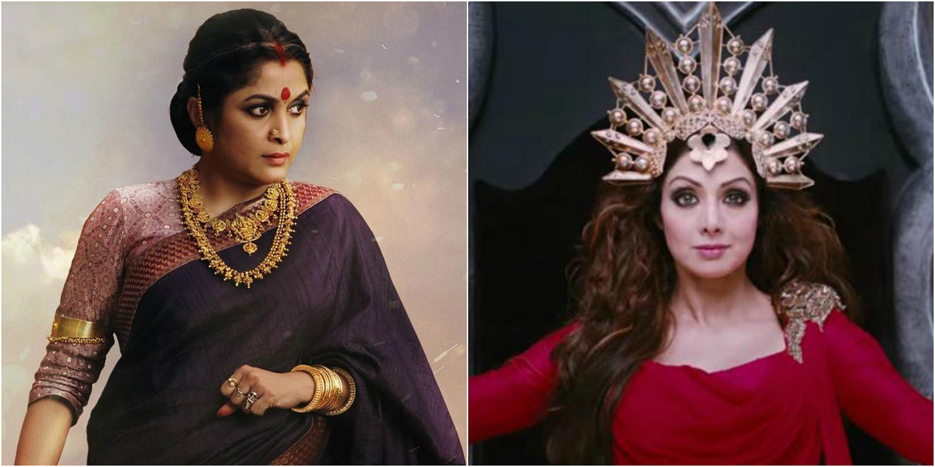 Sridevi Breaks Silence On Rejecting Sivagami's role in Bahubali-2