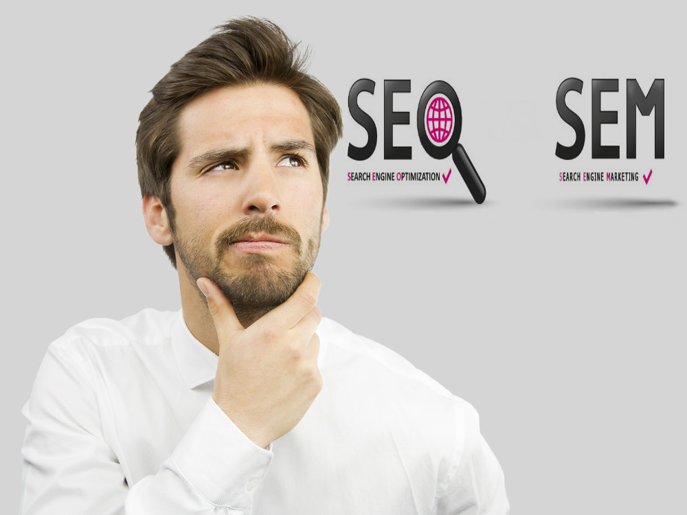 Which One Better Way To Get Traffic: SEM or SEO?