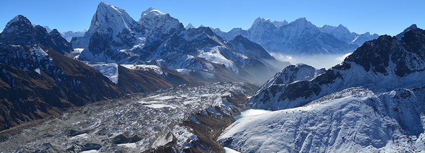 Himalaya view from Gokyo