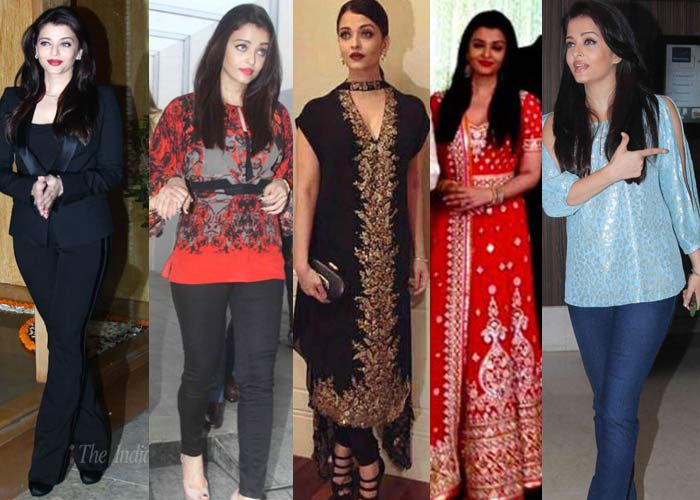 Aishwarya Rai Bachchan shows how to Ace Two Monochrome Looks in Trendy Casuals