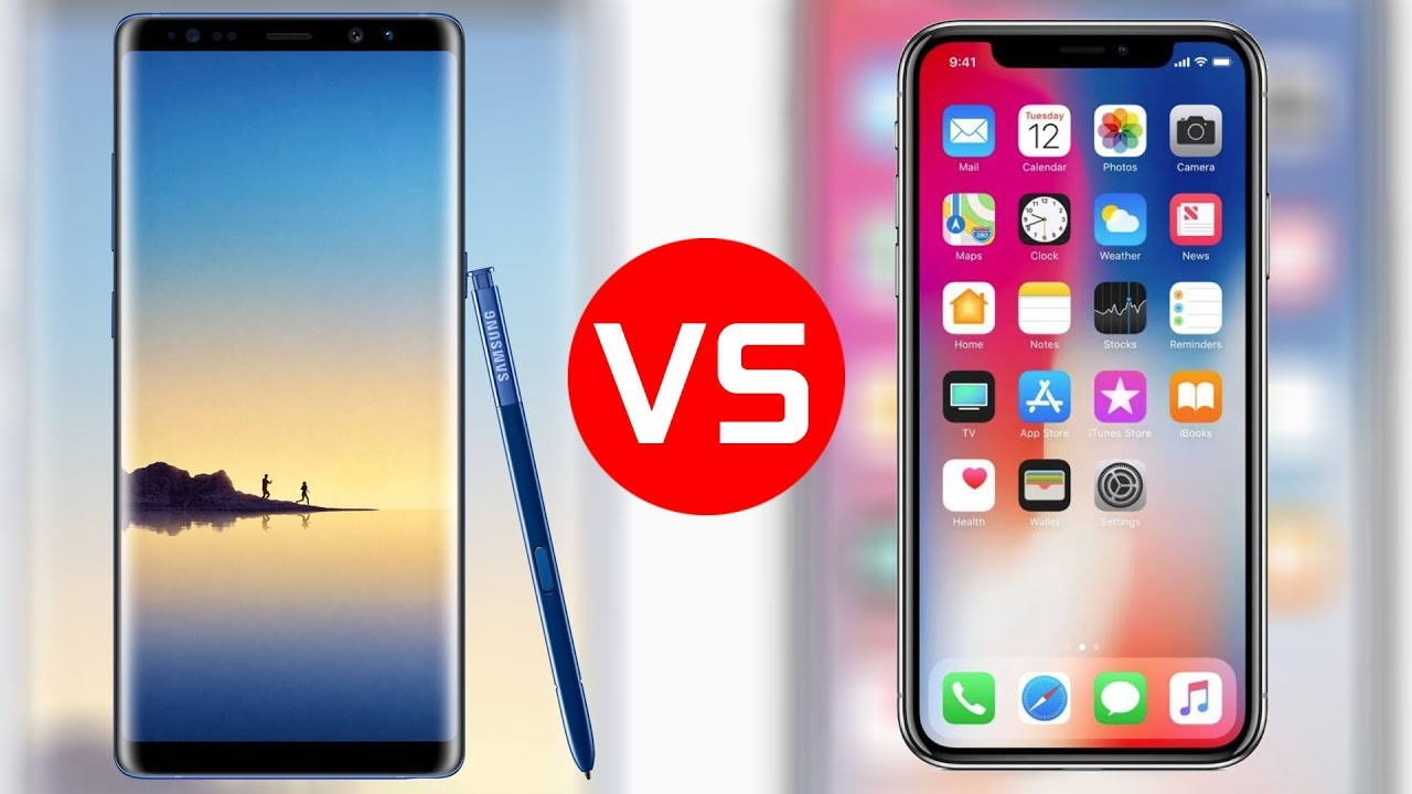 How To Choose Between The Samsung Galaxy Note 8 and The New iPhone X