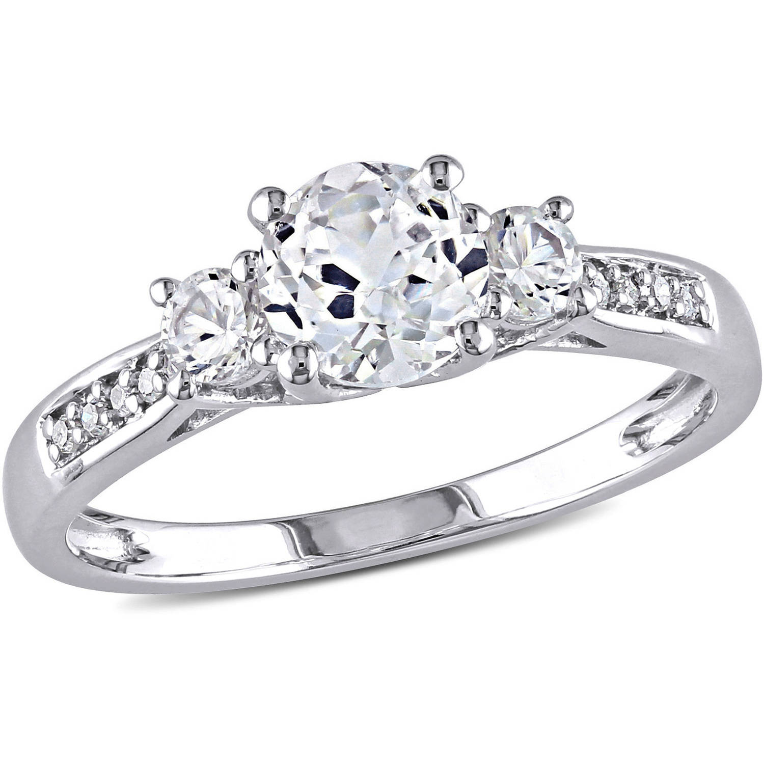 Marquise Cut Created White Sapphire Engagement Ring Cheap