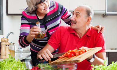 Caring the Elderly, Healthy Diet, Nutrition