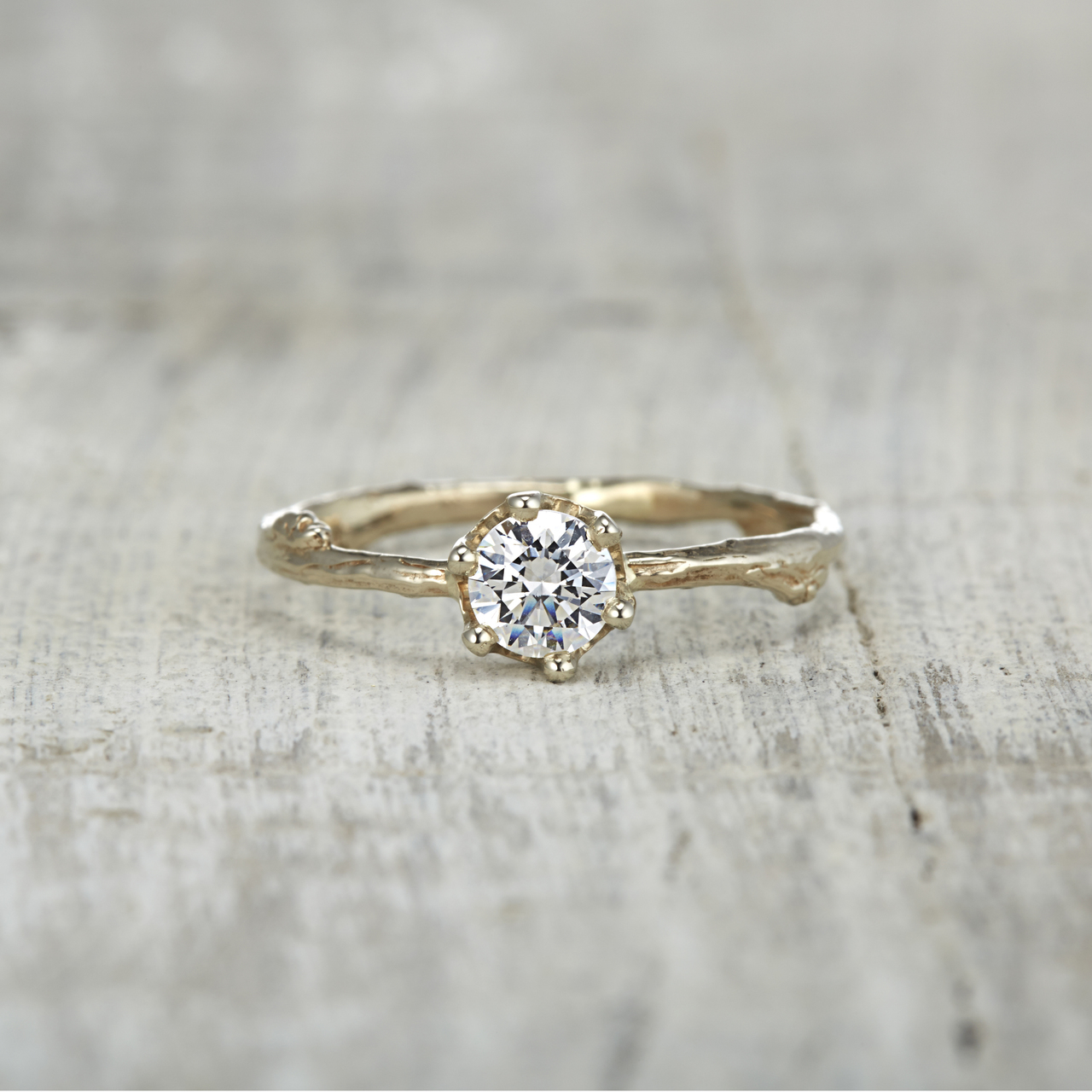 Diamond Twig Engagement Rings for Your Nature-Loving Bride-to-Be