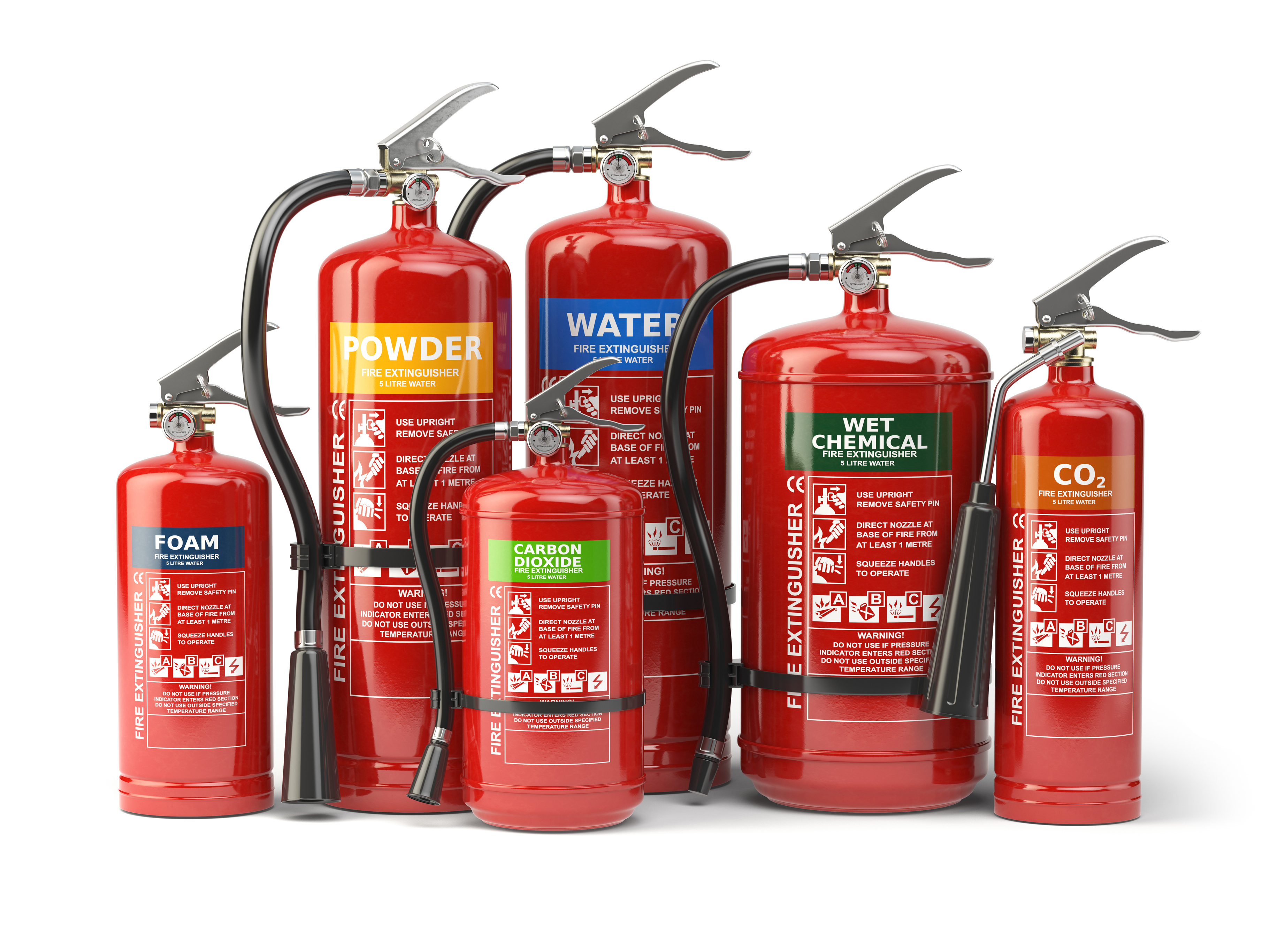 Fire Extinguisher Choices For Your Commercial Building