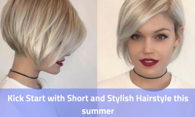 Kick Start with Short and Stylish Hairstyle this summer