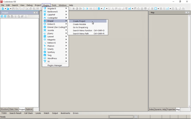Replacement of icons in the CodeLobster IDE