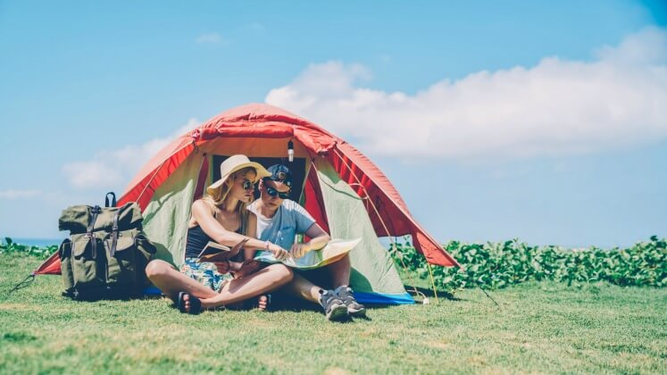 Camping in Hot Weather