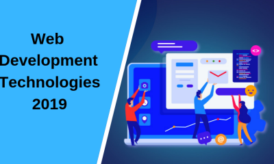 Web Development Technologies 2019