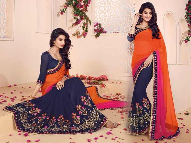 Look Gorgeous And Trendy With Latest Designer Sarees Live Blogspot