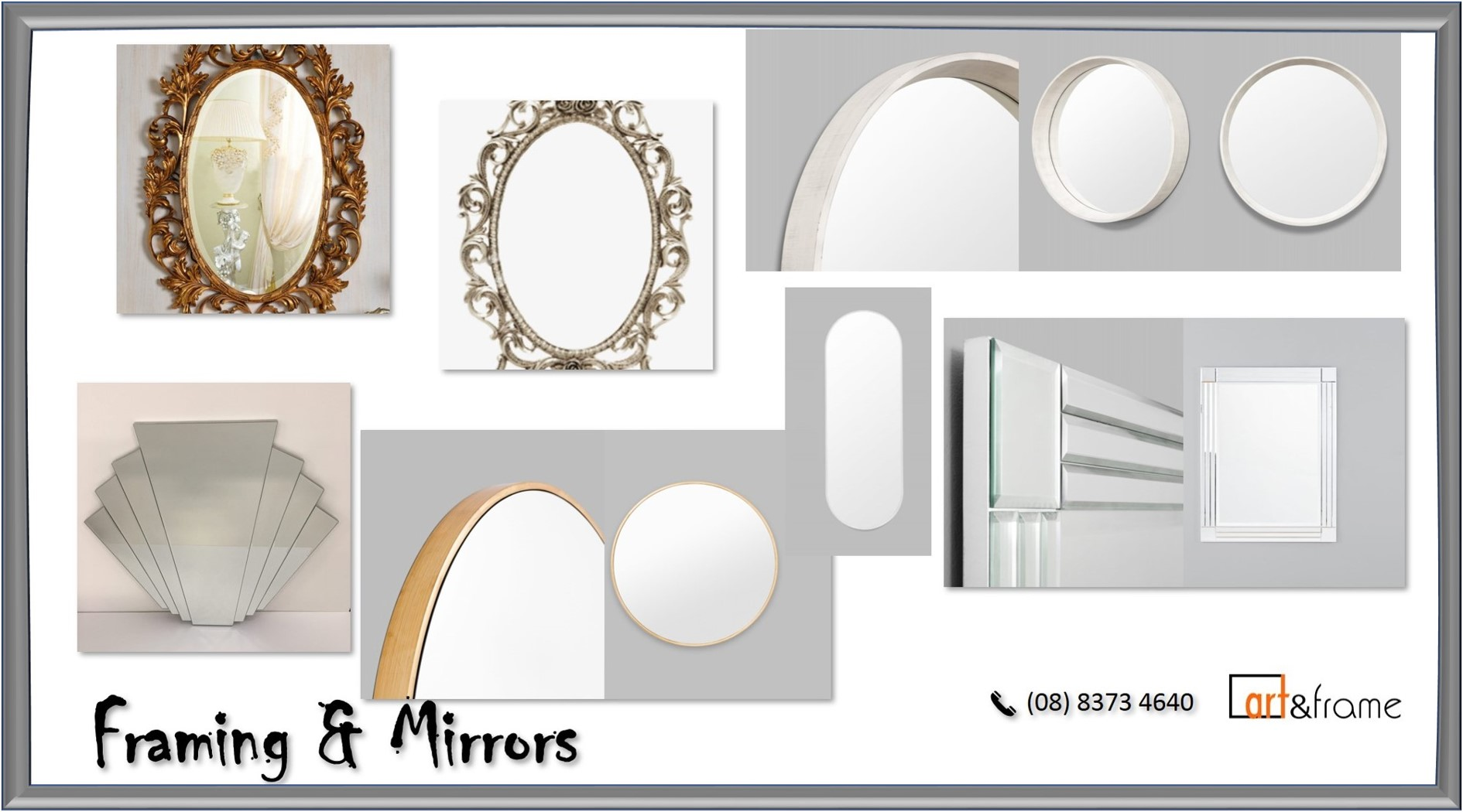 Enhance Wall Appearances and Elevate Dimensions With Dainty Mirror Frames