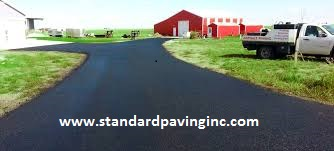 Driveway paving contractor