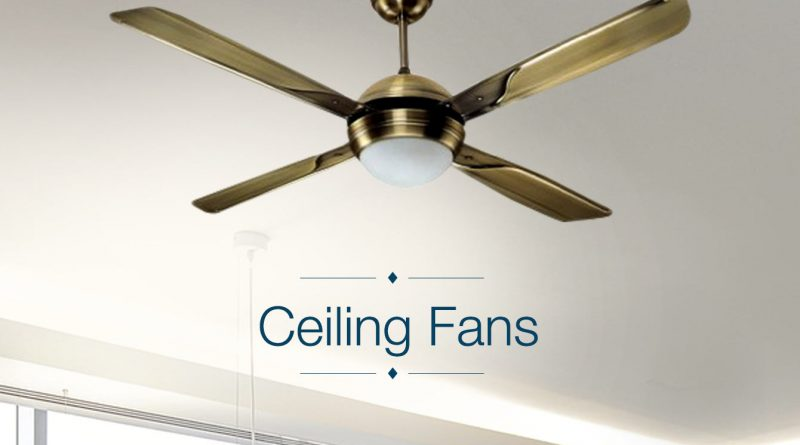 How to Choose Between the Different Types of Ceiling Fans
