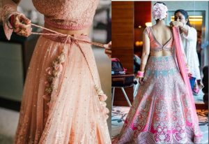 4. Experiment with the Lehenga Hem
