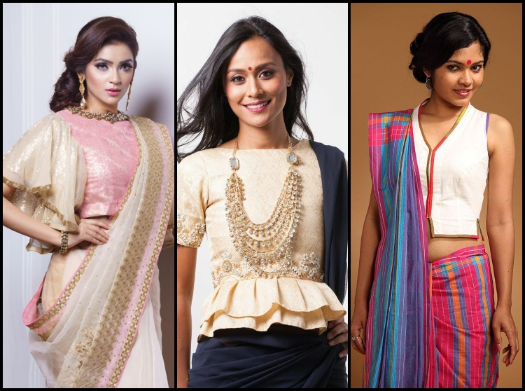 7 Designer Blouse To Oomph Your Saree Look This Season