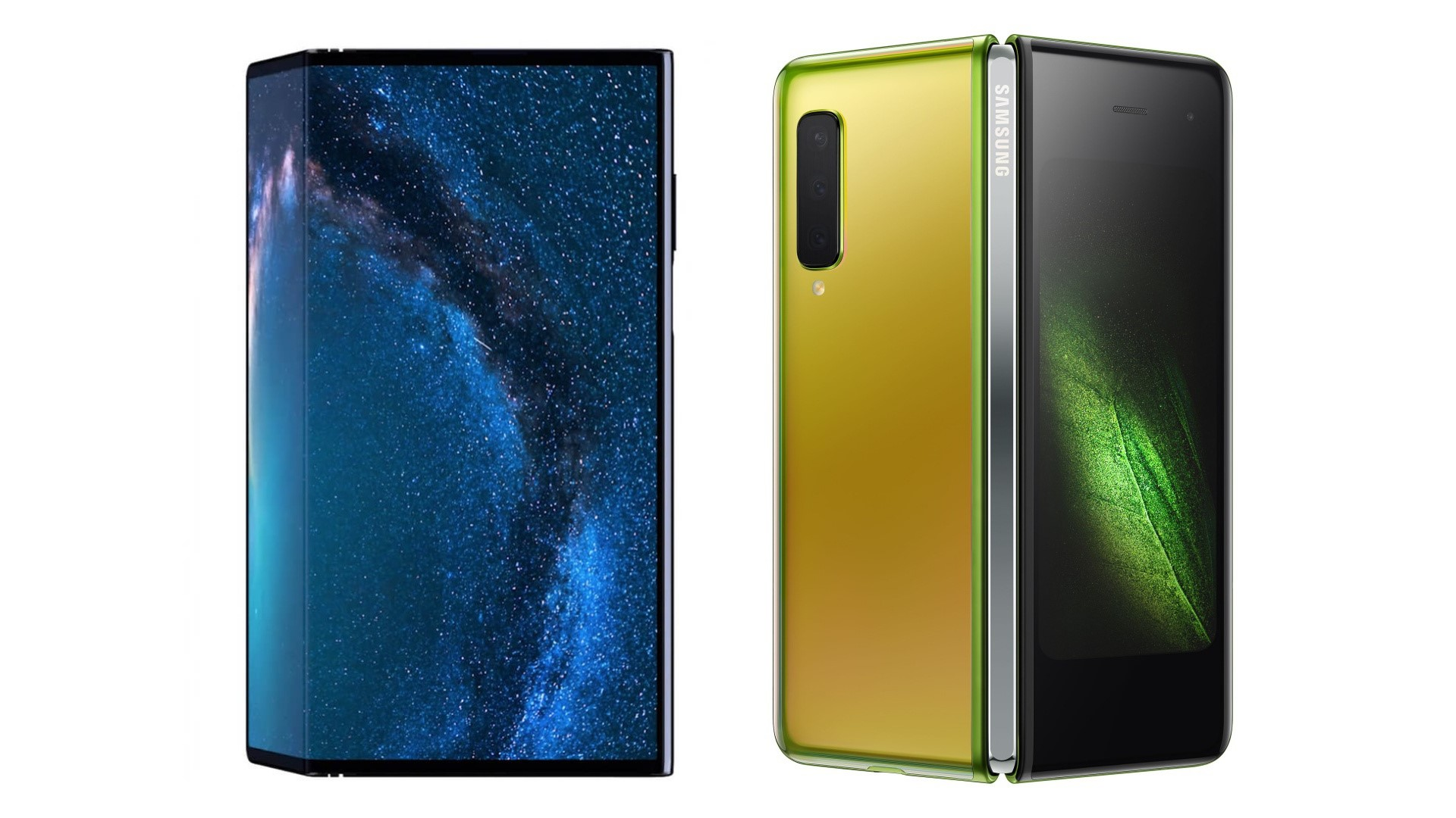 Galaxy Fold vs. Huawei Mate X: Comparing the first Foldable Smartphones