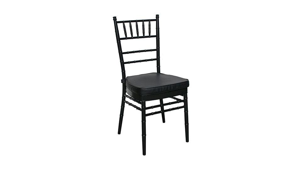 Wedding Function Chair Black