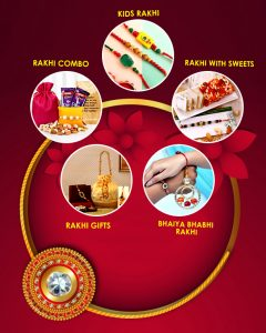 Send Rakhi to Canada from India