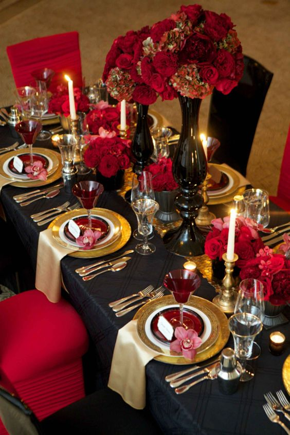 the-red-and-golden-colored-table-top