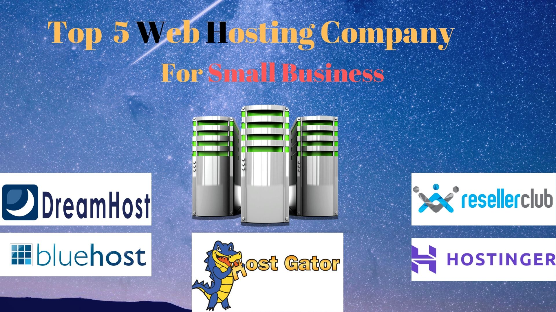 Top 5 Web Hosting for Small Business