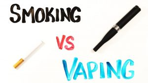 Smoking and Vaping are different things