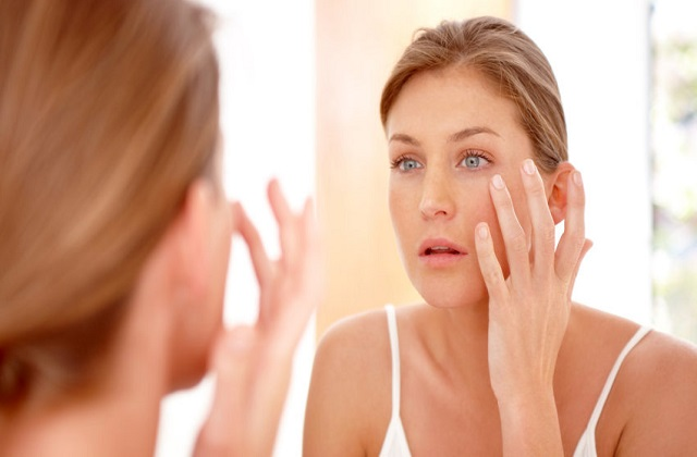 skin care with proper sleeping routine