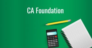 details about ca foundation course