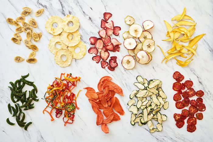 Phenomenal Nutrients Value of Dehydrated Vegetables