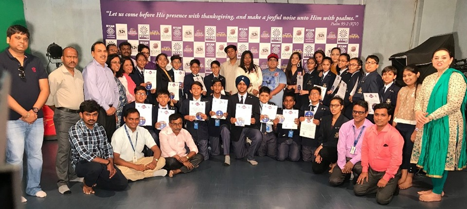 Teaching the art of filmmaking: Young Directors Course by Ryan International School