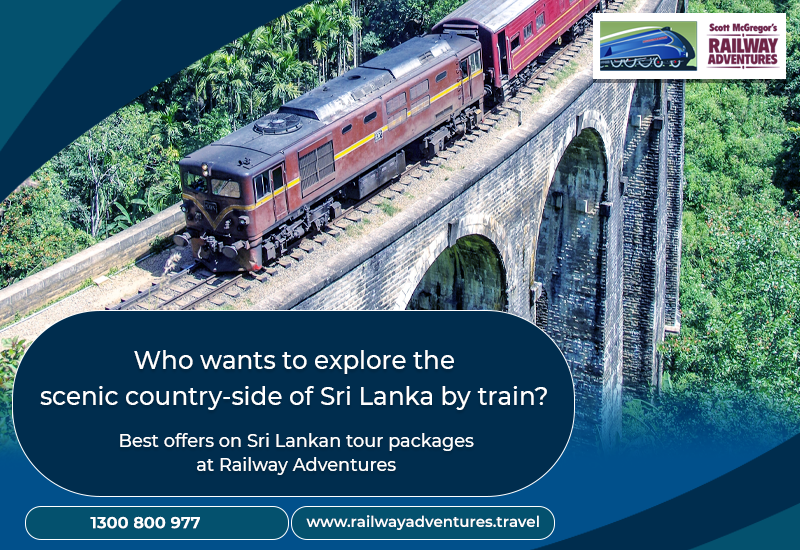 How about planning your next holiday in Sri Lanka?
