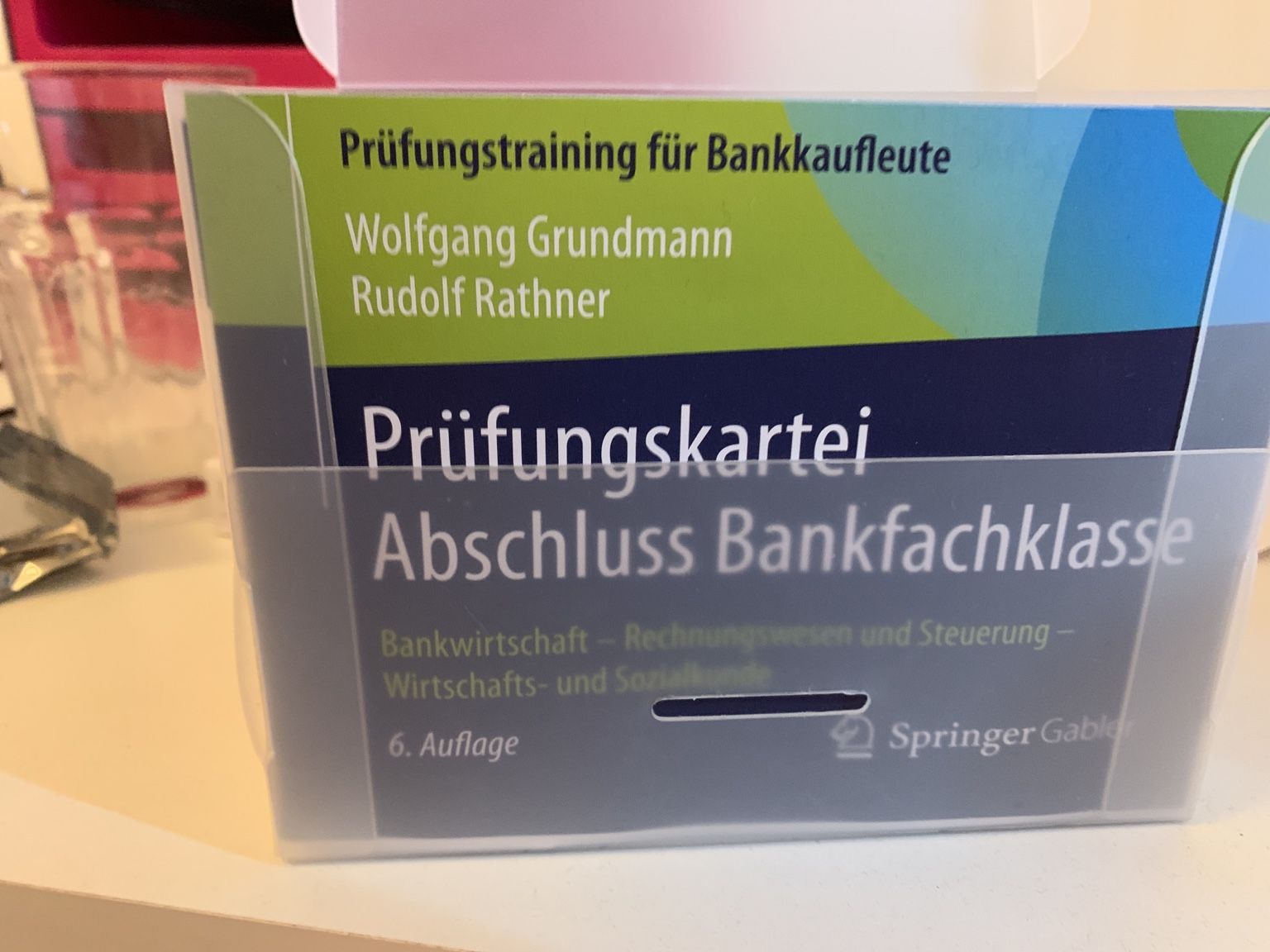 Exam Preparation Bankers in Germany (Prüfungsvorbereitung Bankkaufmann)
