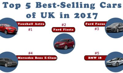 Top 5 Best Selling Cars of UK in 2017