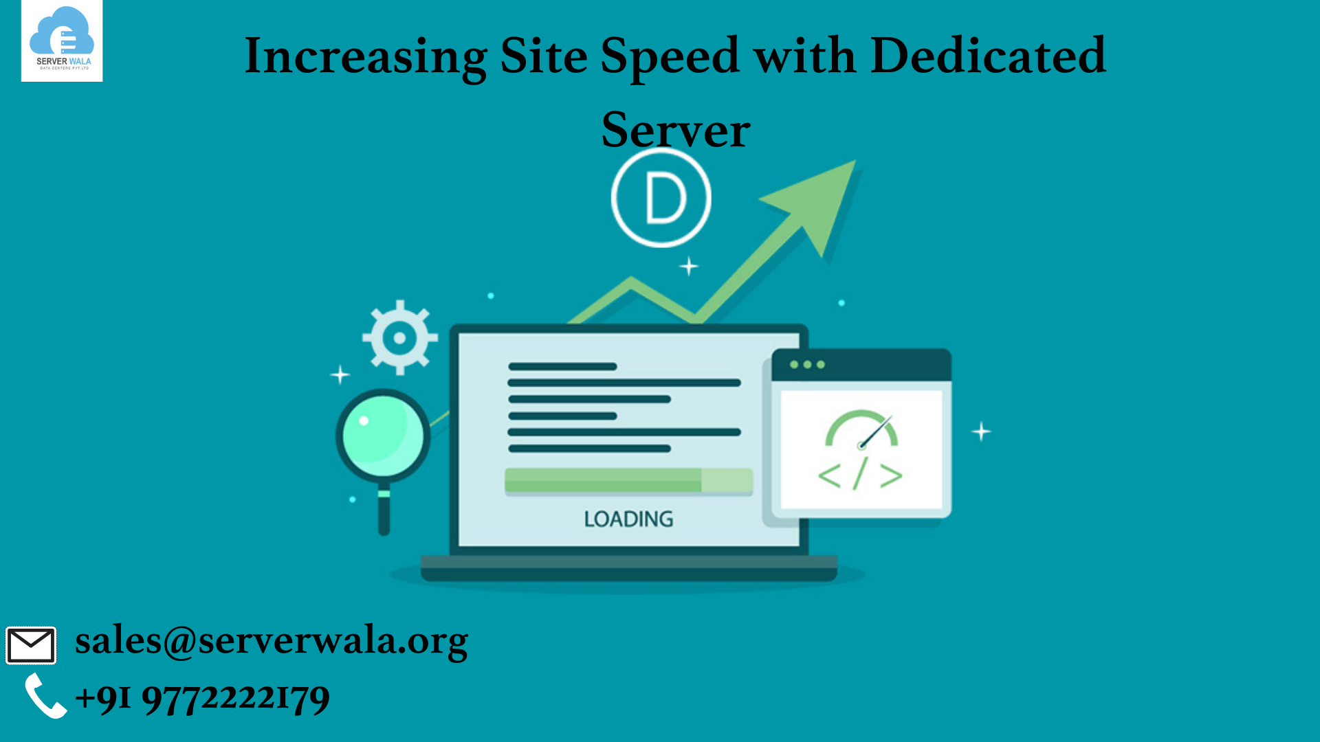 Increasing Site Speed with Dedicated Server