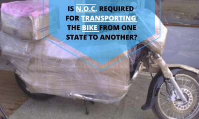 Is N.O.C. required for transporting the bike from one state to another_