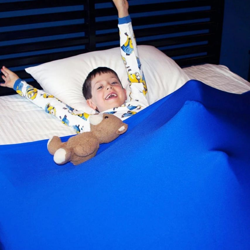 End The Bedtime Struggle with a Soothing Sensory Bed Sheet