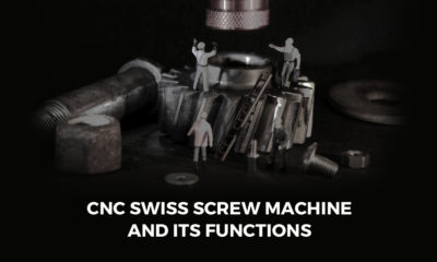 Swiss-Screw-Machine