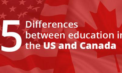 Five differences between education in the US and Canada