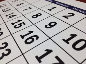 A calendar which is a must when you have to plan moving to Columbus.