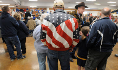 American flag leather jackets