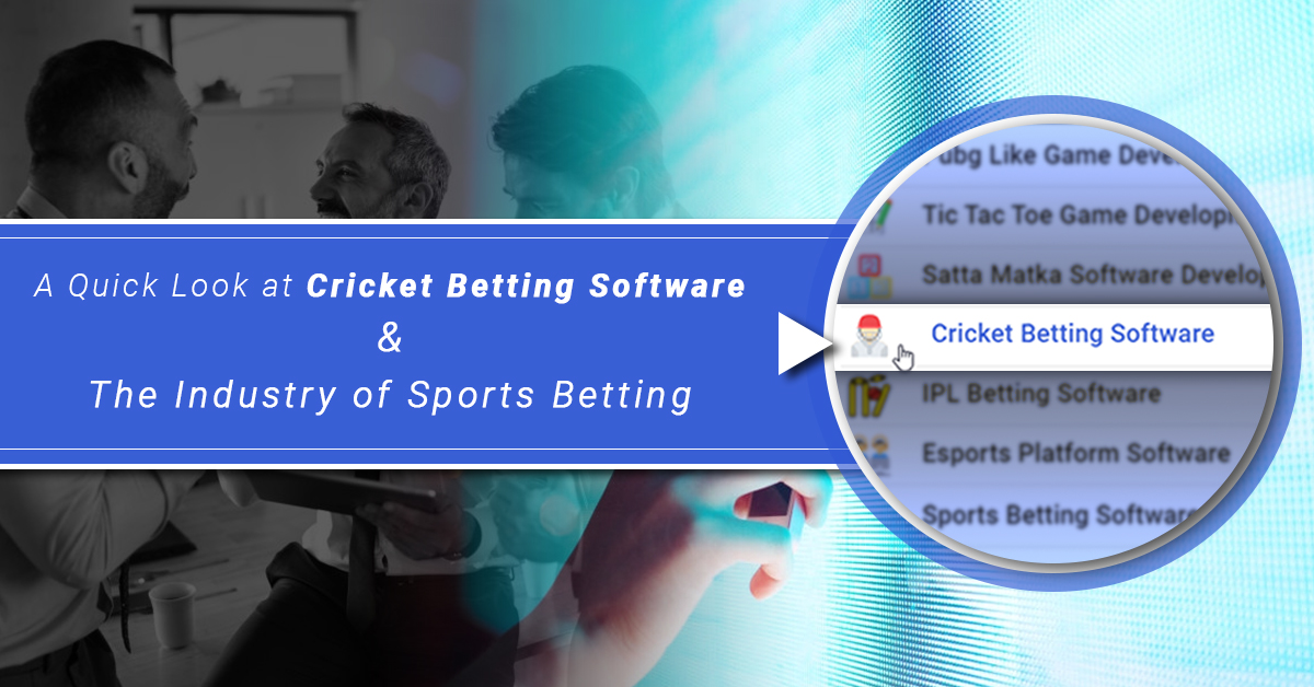 A Quick Look At Cricket Betting Software And The Industry Of Sports Betting