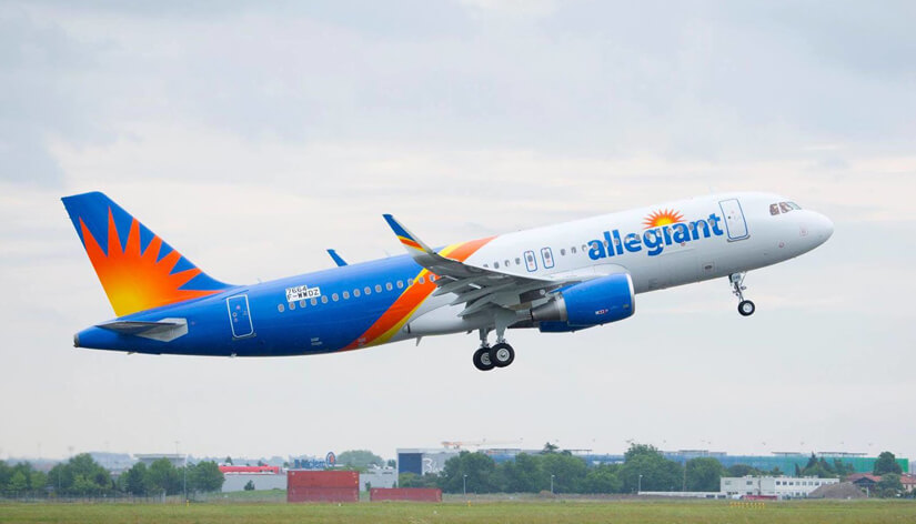 How to change the name on Allegiant Air Ticket